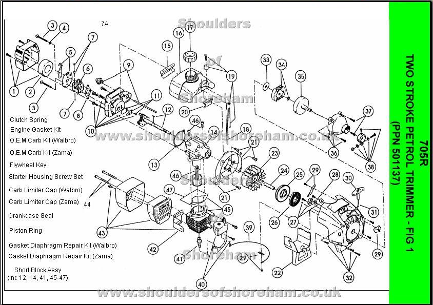 Walbro Carb Parts Diagram on