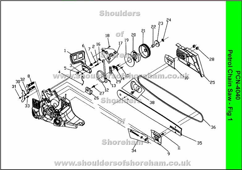 Stihl Parts Manual 017
