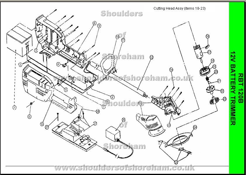 Stihl fs 44 parts Manual
