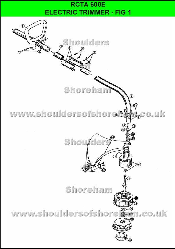 Ryobi 975r Spare Parts Diagrams Shoulders Of Shoreham