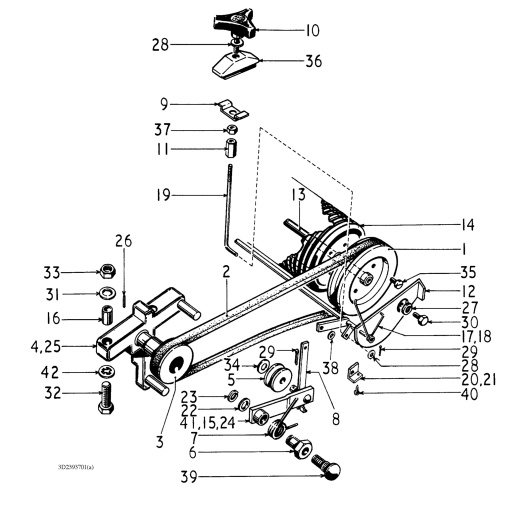 ford 3600 tractor hydraulic diagram