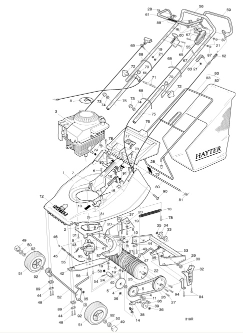 the engine diagram for gm v6 vvt engine harrier engine diagram