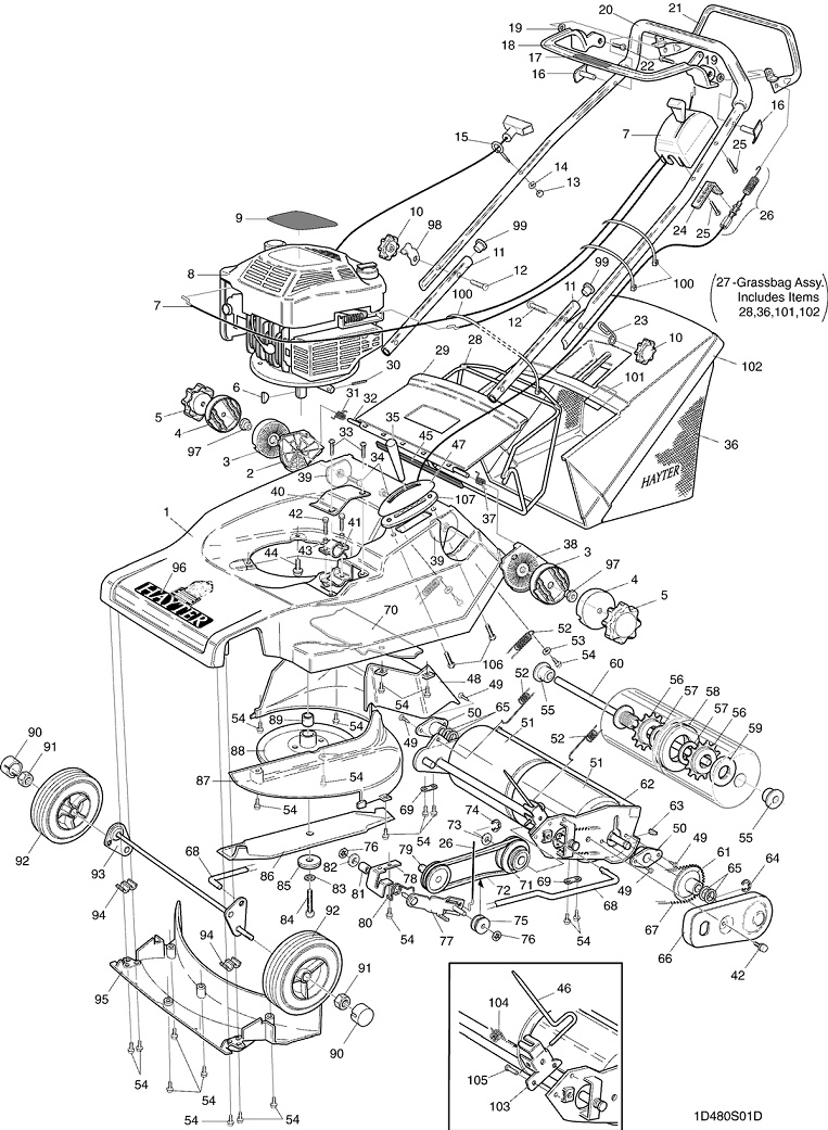 Stihl Ms 290 Parts manual workshop