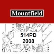 Mountfield 514PD Spares Parts Diagrams 514PD 2008