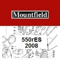 Mountfield 550R ES Spares Parts Diagrams 550 R ES 2008
