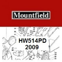 Mountfield HW514PD Spares Parts Diagrams HW514 PD 2009