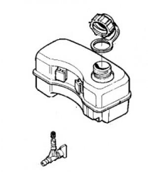16215003 Tecumseh Petrol Tank - tap not included
