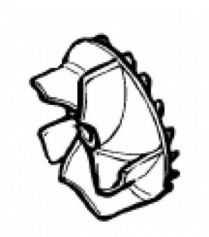 370009-01 Black and Decker Impellor for Master Vac GW250 - GW200