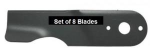 Lawnflite 742-0495-SET 8 Blades - Also part number 742-0495B x 8