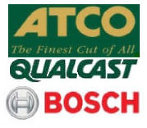 2604321914 Bosch Atco Qualcast CARBON-BRUSH SET