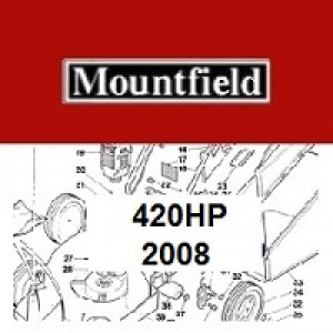 Mountfield 420HP Spares Parts Diagrams 420HP 2008