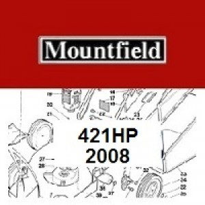 Mountfield 421 HP Spares Parts Diagrams 421HP 2008