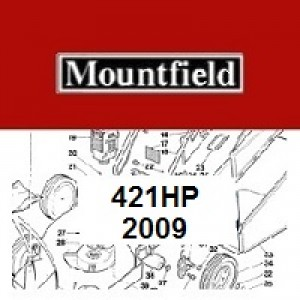Mountfield 421HP Spares Parts Diagrams 421 HP 2009