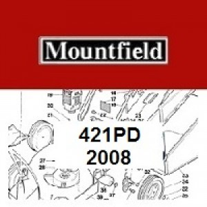 Mountfield 421 PD Spares Parts Diagrams 421PD 2008