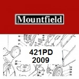 Mountfield 421PD Spares Parts Diagrams 421 PD 2009