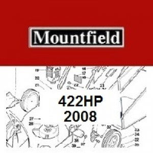 Mountfield 422 HP Spares Parts Diagrams 422HP 2008
