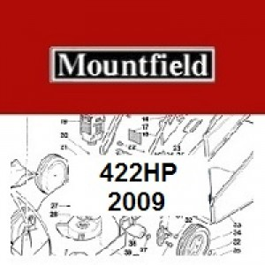 Mountfield 422HP Spares Parts Diagrams 422 HP 2009