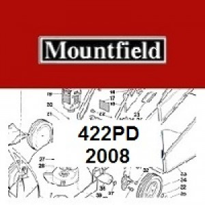 Mountfield 422 PD Spares Parts Diagrams 422PD 2008