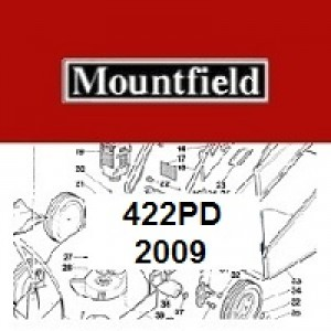 Mountfield 422PD Spares Parts Diagrams 422PD 2009