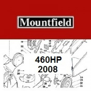 Mountfield 460 HP Spares Parts Diagrams 460HP 2008