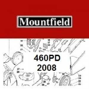Mountfield 460 PD Spares Parts Diagrams 460PD 2008