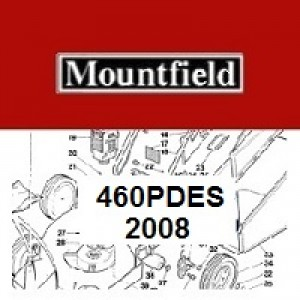 Mountfield 460 PD ES Spares Parts Diagrams 460PDES 2008