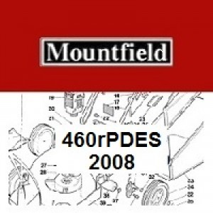 Mountfield 460R PD ES Spares Parts Diagrams 460RPDES 2008