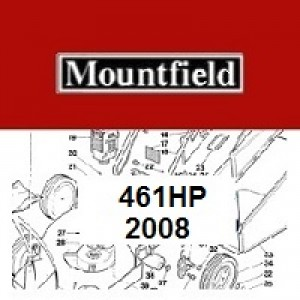 Mountfield 461 HP Spares Parts Diagrams 461HP 2008