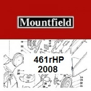 Mountfield 461R HP Spares Parts Diagrams 461RHP 2008