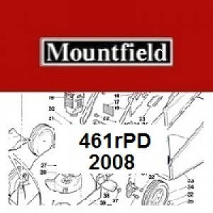 Mountfield 461R PD Spares Parts Diagrams 461RPD 2008