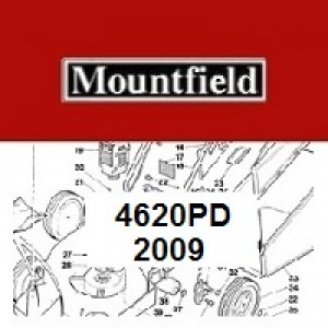Mountfield 4620PD Spares Parts Diagrams 4620 PD 2009