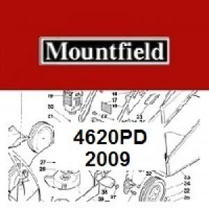Mountfield 4620PD Spares Parts Diagrams 4620 PD 2009