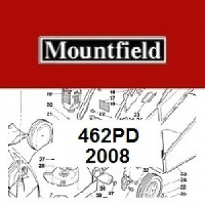 Mountfield 462 PD Spares Parts Diagrams 462PD 2008