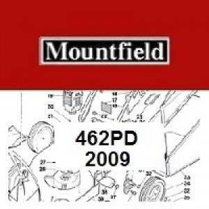 Mountfield 462PD Spares Parts Diagrams 462 PD 2009