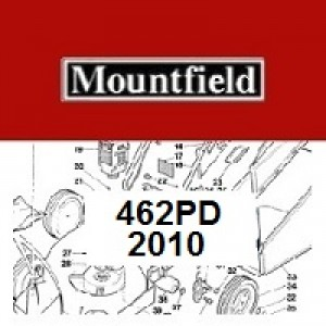 Mountfield 462PD Spares Parts Diagrams 462 PD 2010