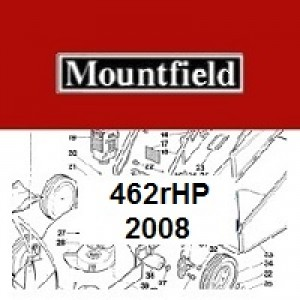 Mountfield 462R HP Spares Parts Diagrams 462RHP 2008