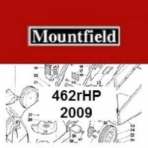 Mountfield 462RHP Spares Parts Diagrams 462R HP 2009