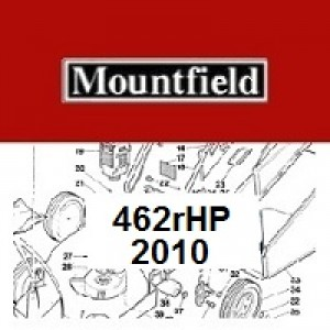 Mountfield 462RHP Spares Parts Diagrams 462 R HP 2010