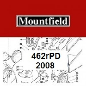 Mountfield 462R PD Spares Parts Diagrams 462RPD 2008