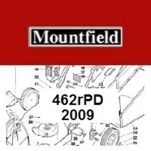 Mountfield 462RPD Spares Parts Diagrams 462R PD 2009