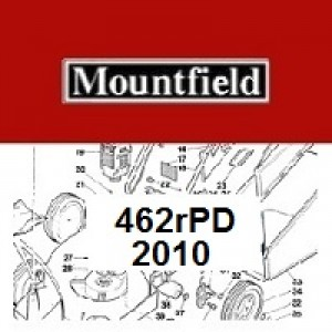 Mountfield 462RPD Spares Parts Diagrams 462R PD 2010