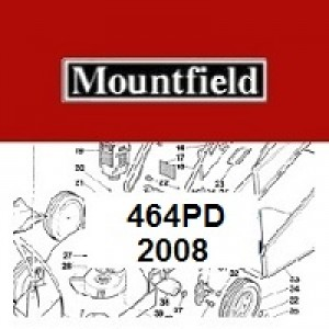 Mountfield 464 PD Spares Parts Diagrams 464PD 2008