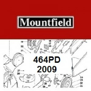 Mountfield 464PD Spares Parts Diagrams 464 PD 2009