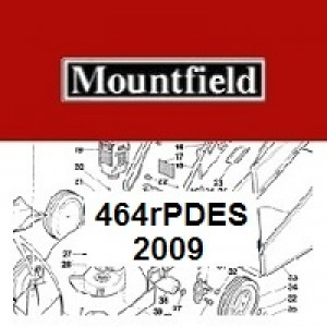 Mountfield 464RPDES Spares Parts Diagrams 464R PD ES 2009