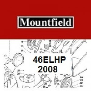 Mountfield 46EL HP Spares Parts Diagrams 46ELHP 2008