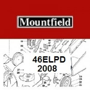 Mountfield 46EL PD Spares Parts Diagrams 46ELPD 2008