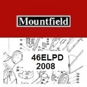 Mountfield 46EL PD Spares Parts Diagrams 46ELPD 2008