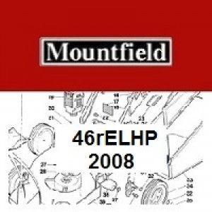 Mountfield 46REL HP Spares Parts Diagrams 46RELHP 2008