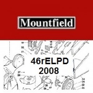 Mountfield 46REL PD Spares Parts Diagrams 46RELPD 2008