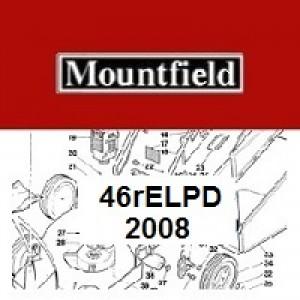 Mountfield 46REL PD Spares Parts Diagrams 46RELPD 2008